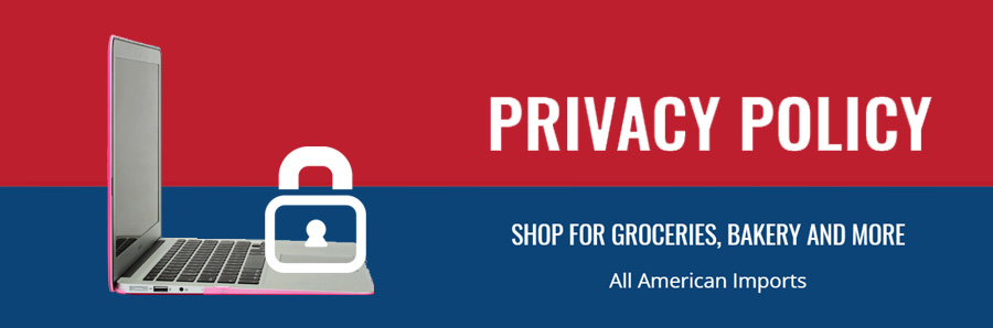Big Apple Shopping In Lebanon - All American Imports - Privacy Policy